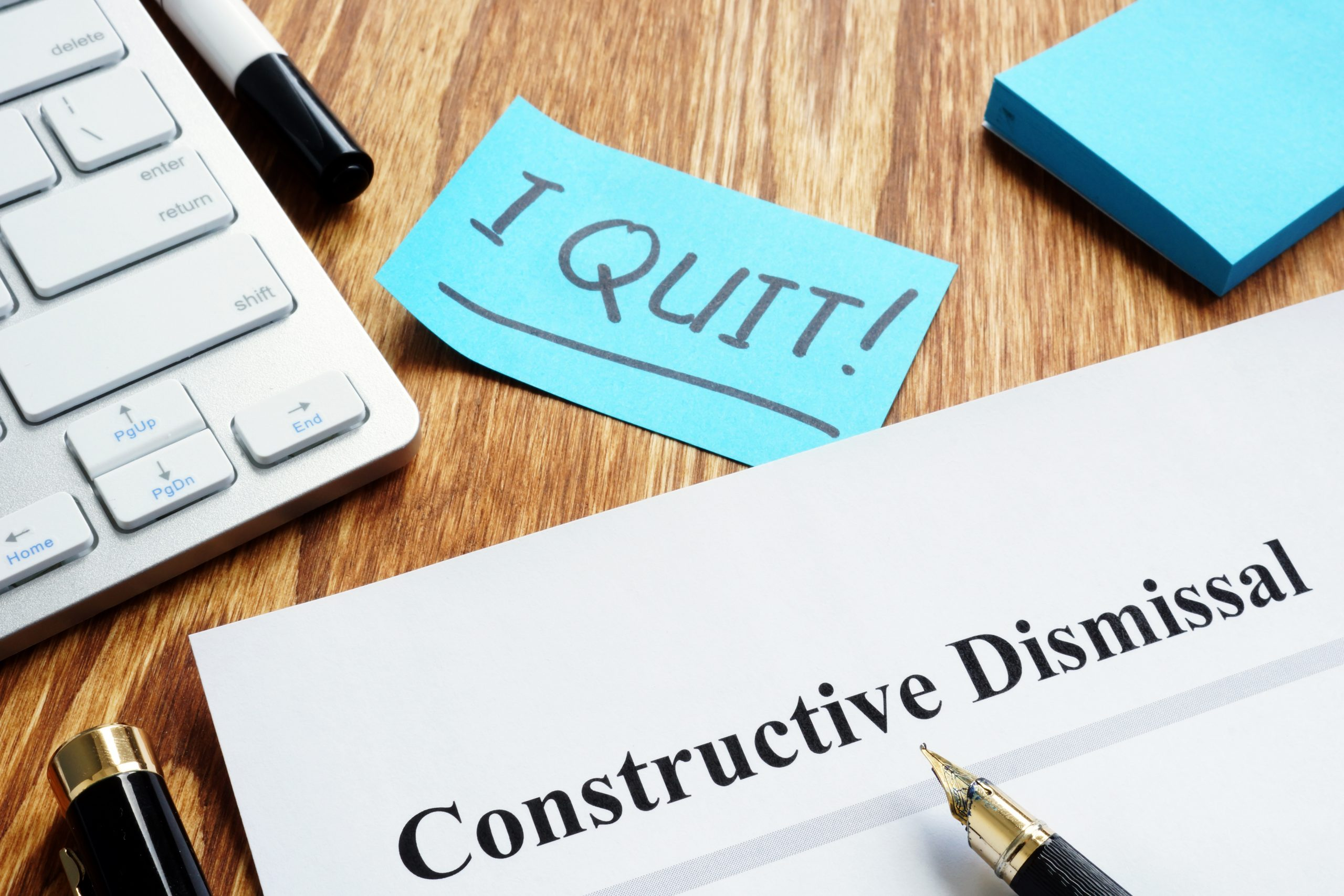 Are Ontario's COVID-19 Deemed IDEL Regulations a defence against Constructive Dismissal Claims? Apparently Not